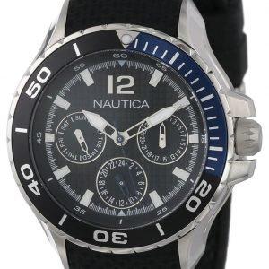 Nautica Nst N16635m Kello Musta / Kumi
