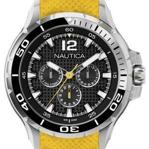 Nautica Nst N17615g Kello Musta / Kumi