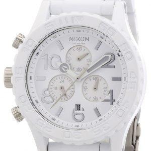 Nixon A0371255-00 Kello Valkoinen / Teräs