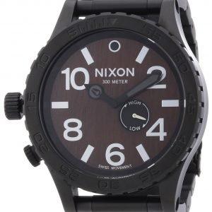 Nixon A0571107-00 Kello Ruskea / Teräs