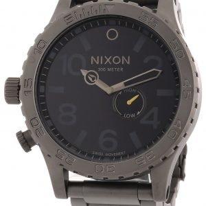 Nixon A057680-00 Kello Musta / Teräs