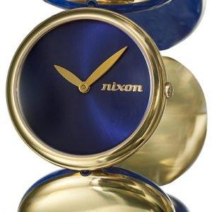 Nixon A098933-00 Kello Sininen / Kullanvärinen Teräs