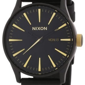 Nixon A1051041-00 Kello Musta / Nahka