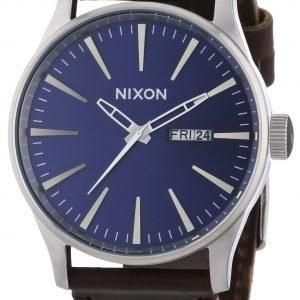 Nixon A1051524-00 Kello Sininen / Nahka