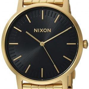 Nixon A10572042-00 Kello Musta / Kullansävytetty Teräs