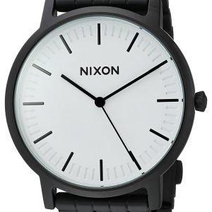 Nixon A10572493-00 Kello Valkoinen / Teräs
