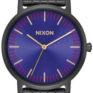 Nixon A10572693-00 Kello Sininen / Teräs