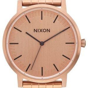 Nixon A1057897-00 Kello Punakultaa / Punakultasävyinen