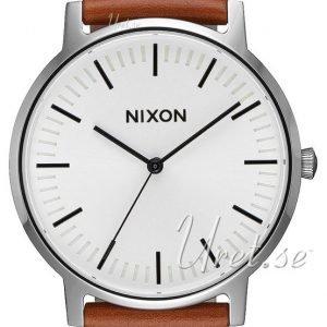 Nixon A10582442-00 Kello Valkoinen / Nahka