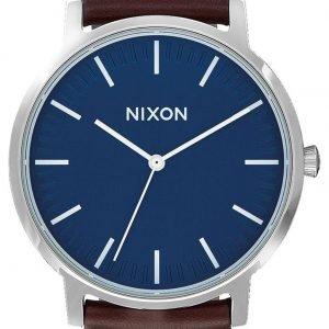 Nixon A1058879-00 Kello Sininen / Nahka