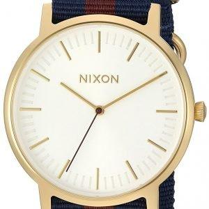 Nixon A10592439-00 Kello Valkoinen / Tekstiili