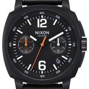 Nixon A1071001-00 Kello Musta / Teräs