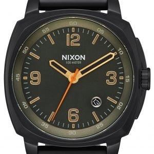 Nixon A10721032-00 Kello Musta / Teräs