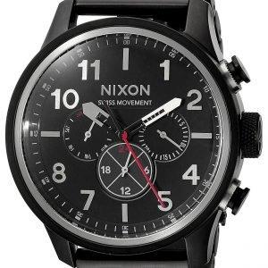 Nixon A1081001-00 Kello Musta / Teräs