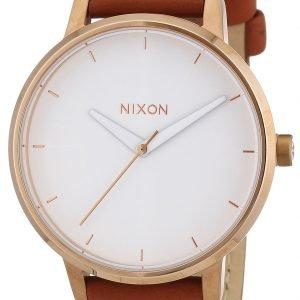 Nixon A1081045-00 Kello Valkoinen / Nahka