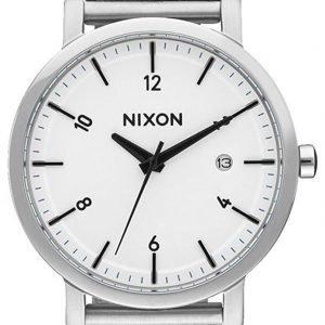 Nixon A10872450-00 Kello Valkoinen / Teräs