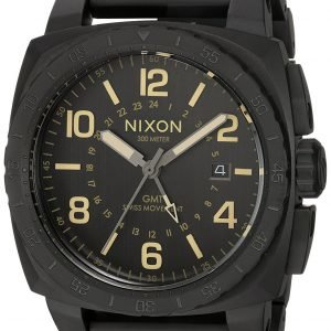 Nixon A10881256-00 Kello Musta / Teräs