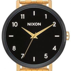Nixon A10902226-00 Kello Musta / Kullansävytetty Teräs