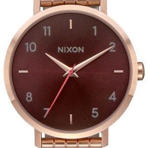Nixon A10902617-00 Kello Ruskea / Punakultasävyinen