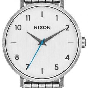 Nixon A10902701-00 Kello Valkoinen / Teräs