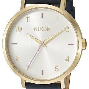 Nixon A1091151-00 Kello Valkoinen / Nahka