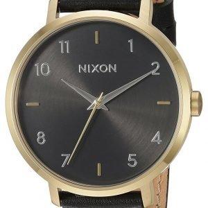Nixon A1091513-00 Kello Musta / Nahka