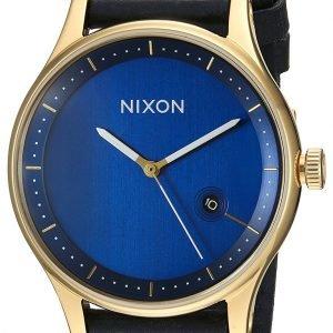 Nixon A1161933-00 Kello Sininen / Nahka