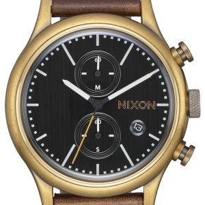 Nixon A11632539-00 Kello Musta / Nahka