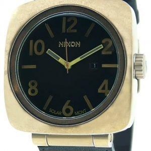 Nixon A117581-00 Kello Musta / Tekstiili