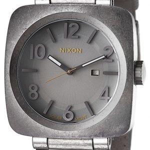 Nixon A117656-00 Kello Harmaa / Nahka