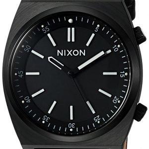 Nixon A1178001-00 Kello Musta / Nahka
