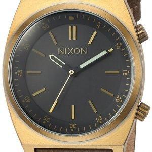 Nixon A11782539-00 Kello Musta / Nahka