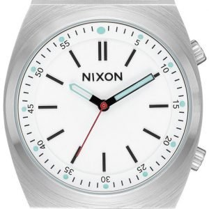 Nixon A11782728-00 Kello Valkoinen / Nahka