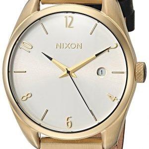 Nixon A1185513-00 Kello Valkoinen / Nahka