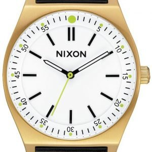 Nixon A11882769-00 Kello Valkoinen / Nahka