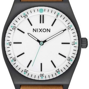 Nixon A11882770-00 Kello Valkoinen / Nahka