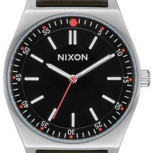 Nixon A11882771-00 Kello Musta / Nahka