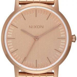 Nixon A1198897-00 Kello Punakultaa / Punakultasävyinen