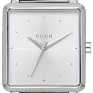 Nixon A12061920-00 Kello Valkoinen / Teräs