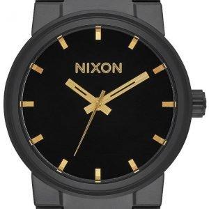 Nixon A1601031-00 Kello Musta / Teräs