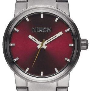 Nixon A1602073-00 Kello Punainen / Teräs