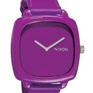 Nixon A167698-00 Kello Violetti / Nahka
