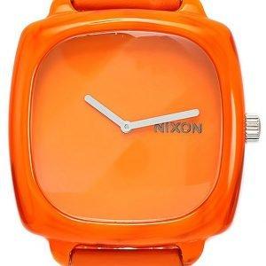 Nixon A167877-00 Kello Oranssi / Nahka