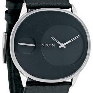 Nixon A186000-00 Kello Musta / Nahka