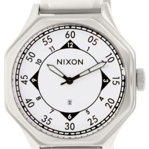 Nixon A1951166-00 Kello Valkoinen / Teräs