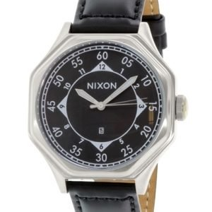 Nixon A196000-00 Kello Musta / Nahka