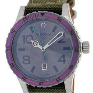 Nixon A2691765-00 Kello Ruskea / Tekstiili