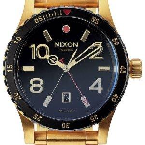 Nixon A277513-00 Kello Musta / Kullansävytetty Teräs