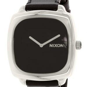 Nixon A286000-00 Kello Musta / Nahka