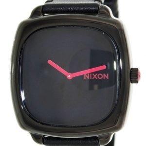 Nixon A286871-00 Kello Musta / Tekstiili